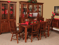 Amish Furniture : Amish Dining Collection by River View