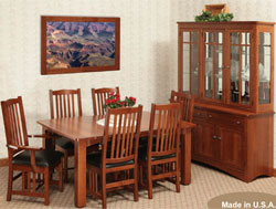 Amish Furniture : Grandville Dining Collection