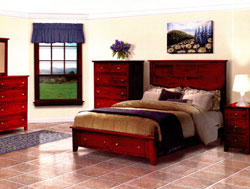 Amish Furniture : Olde Cottage Bedroom Collection