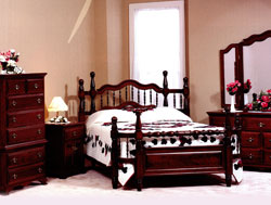 Amish Furniture : Wrap Around Bedroom Collection