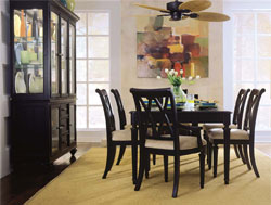 Dining Room : Camden Black Dining by American Drew