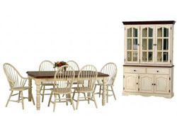 Dining Room : Windswept Shores Buttermilk Dining Collection by TEI