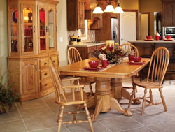 Amish Furniture : Amish Country Dining Collection
