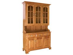 Amish Furniture : Amish Country Hutch