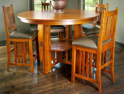 Amish Furniture : Amish Grand Mesa Pub Set
