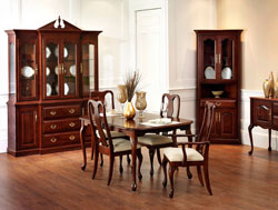 Amish Furniture : Amish Queen Ann Dining Collection